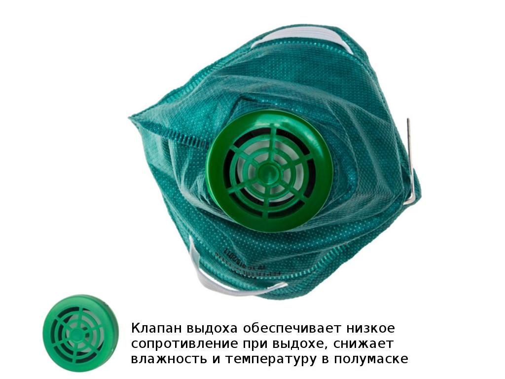 Защитная маска Dexx 11170 класс защиты FFP1 (до 4 ПДК)