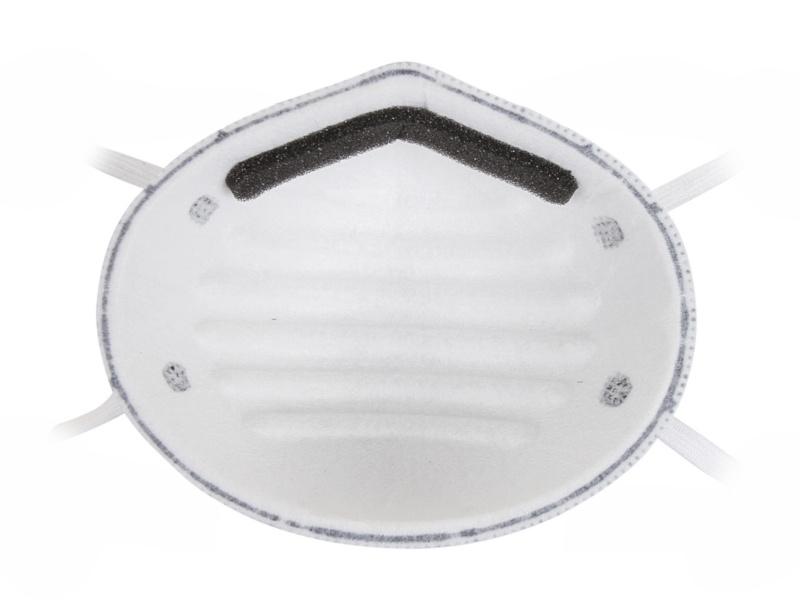 Защитная маска Uspex 12370 трехслойная класс защиты FFP1 (до 4 ПДК) + с угольным фильтром